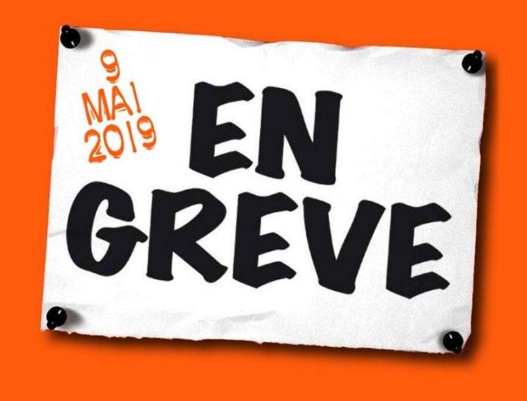2b2cc8cccab Fonction publique   Grève unitaire et manifestations le 9 mai 2019  (12-04-19). Contre le projet de loi ...
